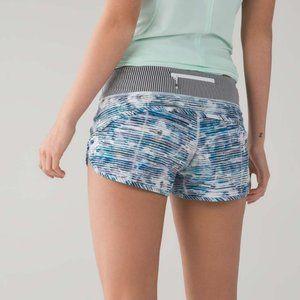 Lululemon Speed Shorts Blurry Belle Multi